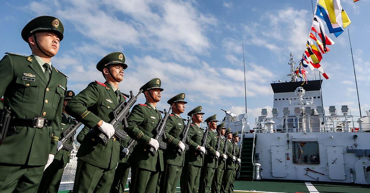 חיילי הצי הסיני