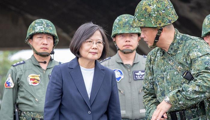 טאיוון - הנשיאה צאי